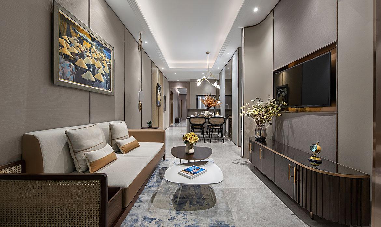 Nhà mẫu dự án căn hộ chung cư The Marq Quận 1 Đường Nguyễn Đình Chiểu chủ đầu tư HongKong Land & Hoa Lâm
