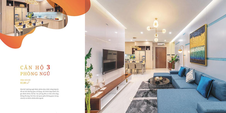 Nhà mẫu dự án căn hộ chung cư West Gate Bình Chánh
