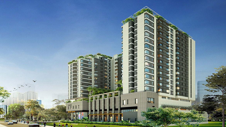 Phối cảnh dự án căn hộ chung cư Asiana Summer City Quận 12 Đường Song Hành chủ đầu tư Gotec Land