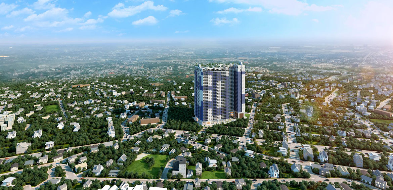 Dự án căn hộ chung cư C River View Bình Dương Đường Trần Phú chủ đầu tư Quốc Cường Chánh Nghĩa