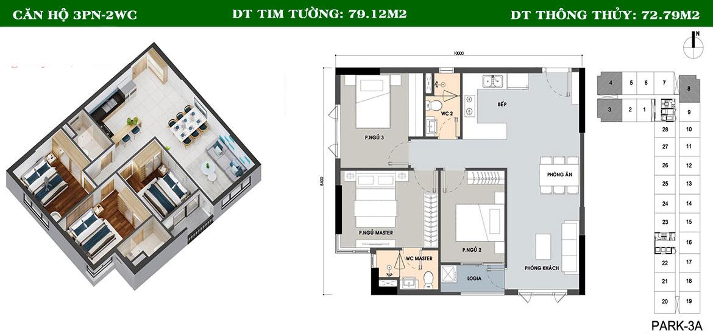 Thiết kế dự án căn hộ chung cư PiCity High Park Quận 12 Đường Thạnh Xuân 13 chủ đầu tư Pi Group