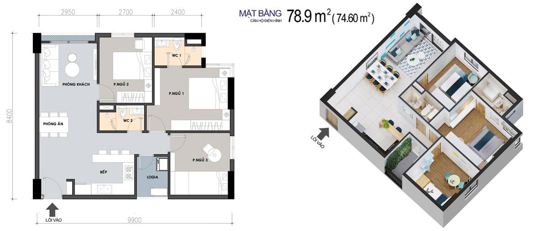 Thiết kế dự án căn hộ chung cư West Gate Bình Chánh