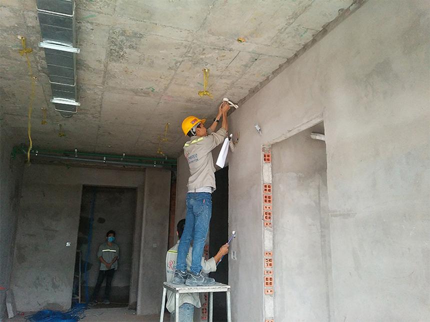 Tiến độ dự án căn hộ chung cư River Panorama Quận 7 Đường Hoàng Quốc Việt chủ đầu tư An Gia tháng 9/2019