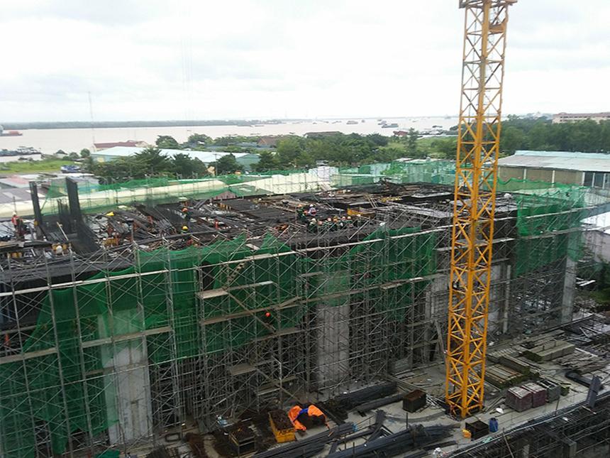 Tiến độ dự án căn hộ chung cư Sky 89 Quận 7 Đường Hoàng Quốc Việt chủ đầu tư An Gia tháng 9/2019