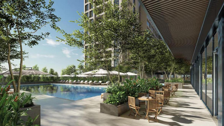 Tiện ích dự án căn hộ chung cư C River View Bình Dương chủ đầu tư Quốc Cường Chánh Nghĩa