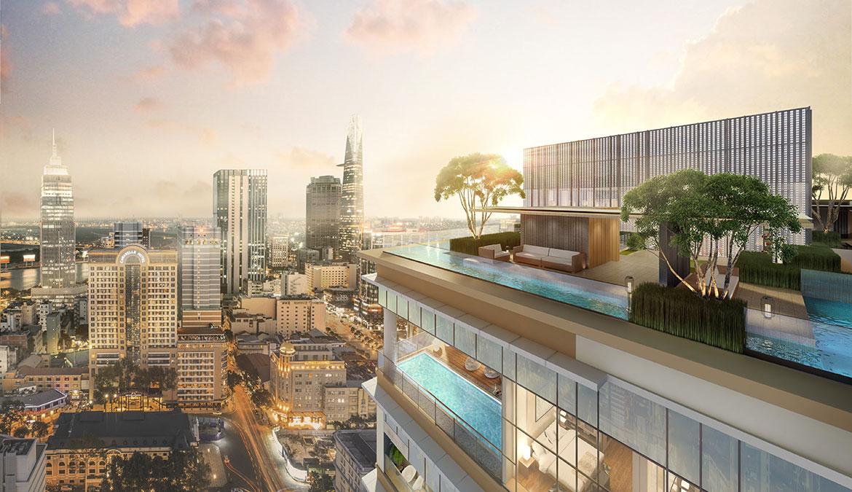 Tiện ích dự án căn hộ chung cư The Marq Quận 1 Đường Nguyễn Đình Chiểu chủ đầu tư HongKong Land & Hoa Lâm