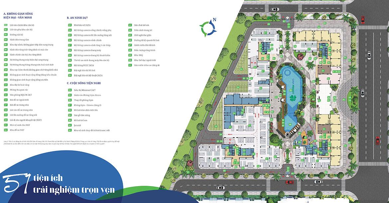 Tiện ích dự án căn hộ chung cư West Gate Bình Chánh
