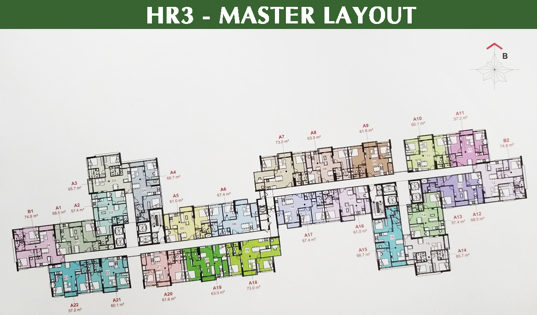 Thiết kế Block HR3 dự án căn hộ Eco Green Sài Gòn Quận 7
