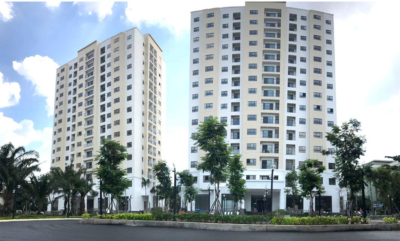 Nhà mẫu dự án căn hộ chung cư An Sương I Park Quận 12 Đường Khu Dân Cư An Sương chủ đầu tư HDTC