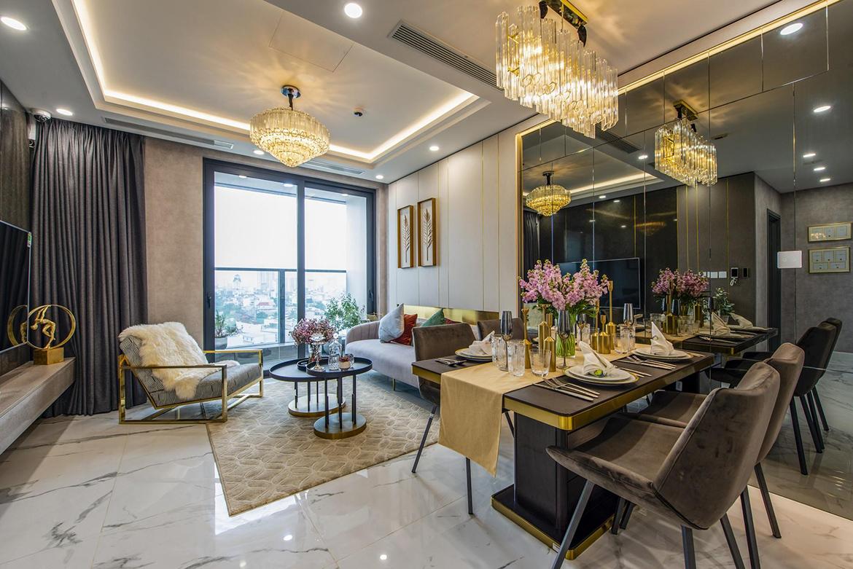 Nhà mẫu dự án căn hộ chung cư Sunshine City Sài Gòn Quận 7 Đường Phú Thuận chủ đầu tư Sunshine Group