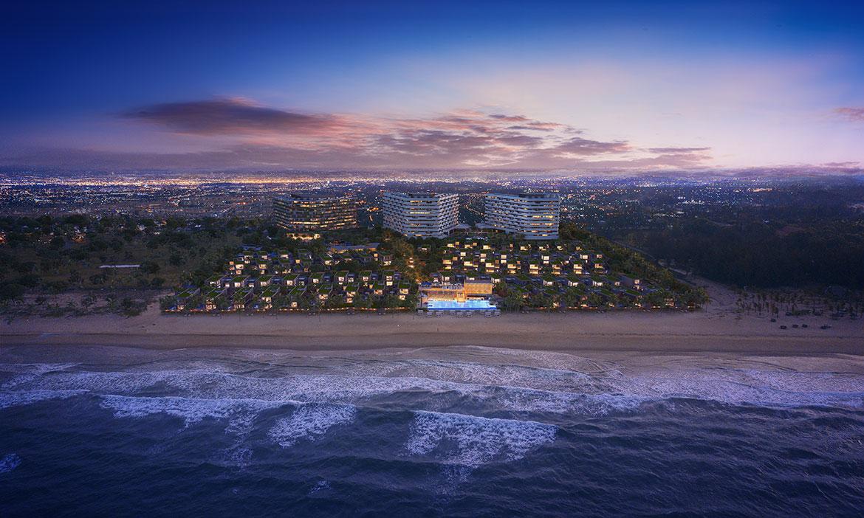 Phối cảnh dự án biệt thự nghỉ dưỡng căn hộ condotel Shantira Beach Resort Hội An