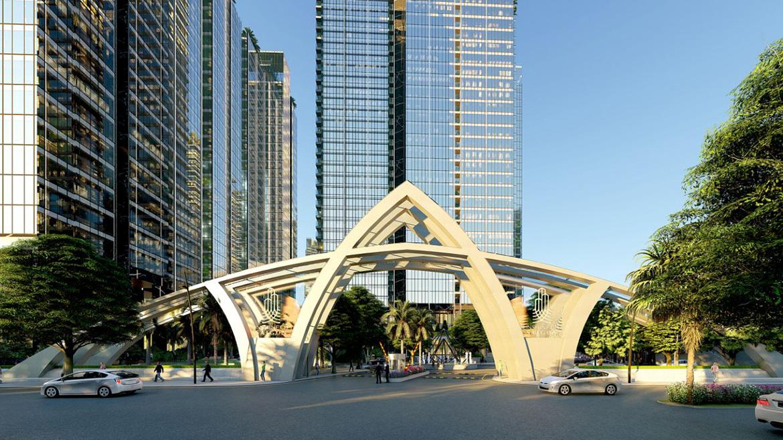Phối cảnh dự án căn hộ chung cư sunshine city sài gòn quận 7