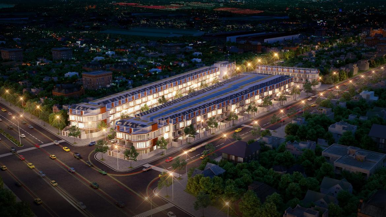 Phối cảnh dự án đất nền khu dân cư Pearl Garden Bình Tân Đường Nguyễn Cửu Phú