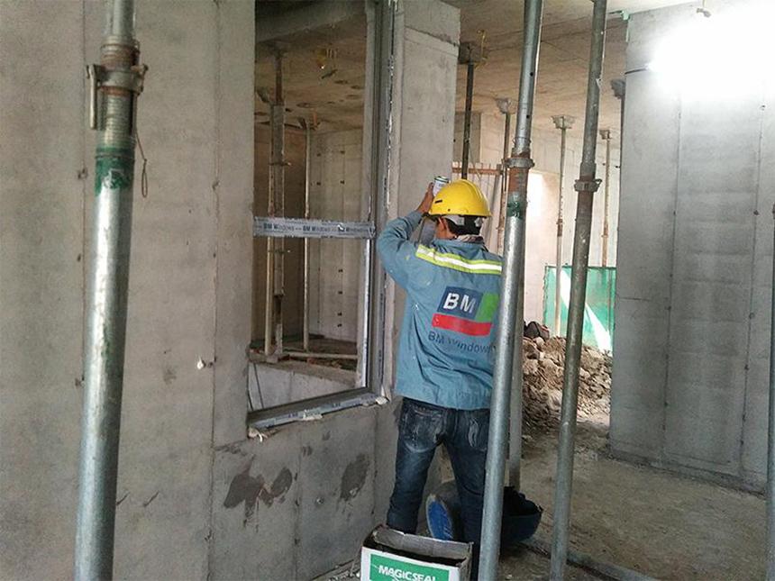 Tiến độ dự án căn hộ chung cư River Panorama Quận 7 Đường Hoàng Quốc Việt chủ đầu tư An Gia tháng 10.2019