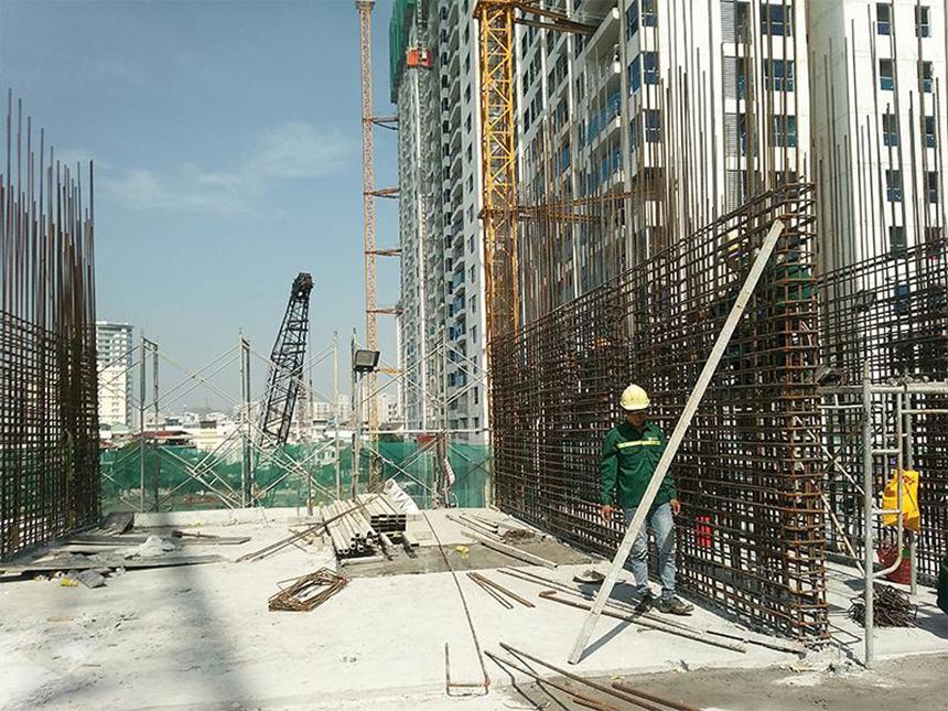 Tiến độ dự án căn hộ chung cư Sky 89 Quận 7 Đường Hoàng Quốc Việt chủ đầu tư An Gia Investment