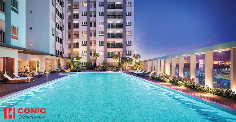 Tiện ích dự án căn hộ chung cư Conic Boulevard Quận 6 Mặt tiền Đại lộ Võ Văn Kiệt