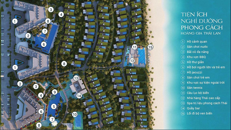 Tiện ích dự án biệt thự nghỉ dưỡng căn hộ condotel Shantira Beach Resort Hội An