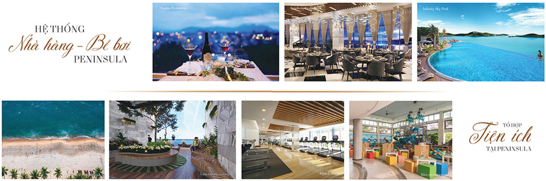 Tiện ích dự án căn hộ condotel Peninsula Nha Trang Đường KĐT Biển An Viên chủ đầu tư Công ty cổ phần đầu tư điện lực Hà Nội