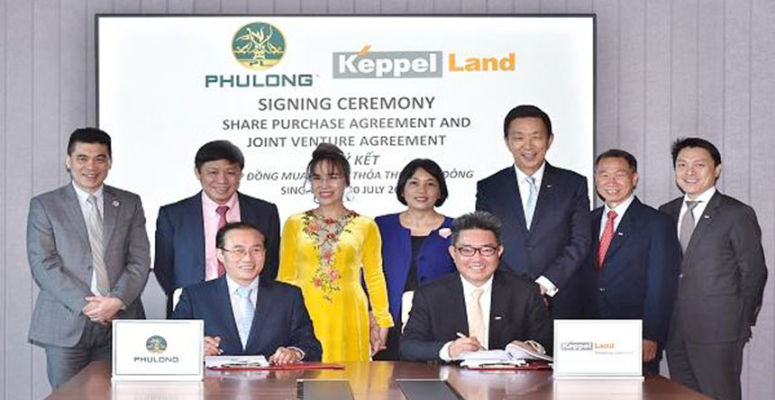 Keppel Land và Phú Long phát triển dự án Celesta Rise Nhà Bè