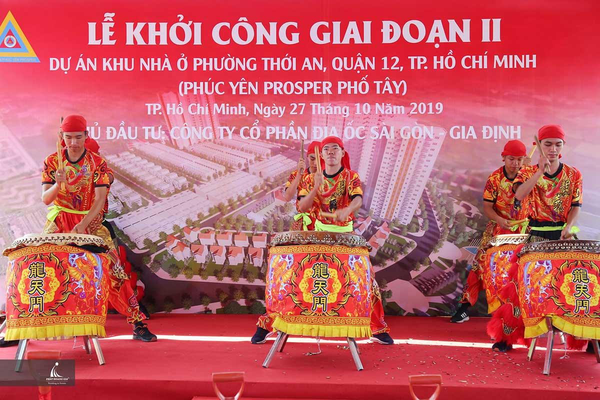 Lễ khởi công dự án căn hộ chung cư Phúc Yên Prosper Phố Tây Quận 12 Đường Lê Thị Riêng
