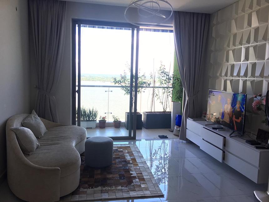 Cho thuê căn hộ 2 phòng ngủ dự án Riverside Quận 7 giá 12 triệu/tháng