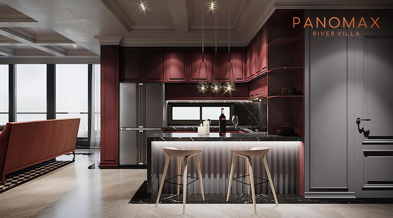 Nhà mẫu dự án căn hộ chung cư Panomax River Villa Quận 7 Đường Đào Trí chủ đầu tư TTC Land
