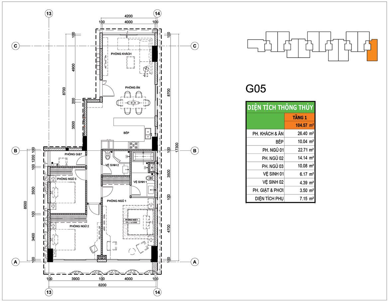 Thiết kế dự án căn hộ chung cư Panomax River Villa Quận 7 Đường Đào Trí chủ đầu tư TTC Land