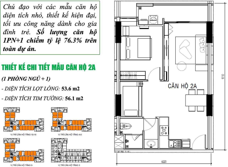Thiết kế dự án Căn hộ chung cư Ricca Quận 9 Đường Gò Cát Phường Phú Hữu