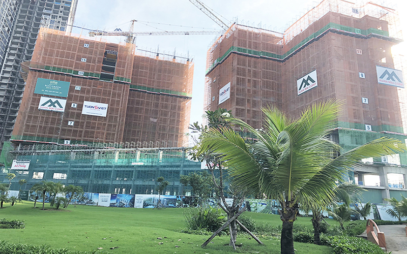 Cập nhật tiến độ xây dựng căn hộ Eco Green Saigon Quận 7 tháng 11.2019