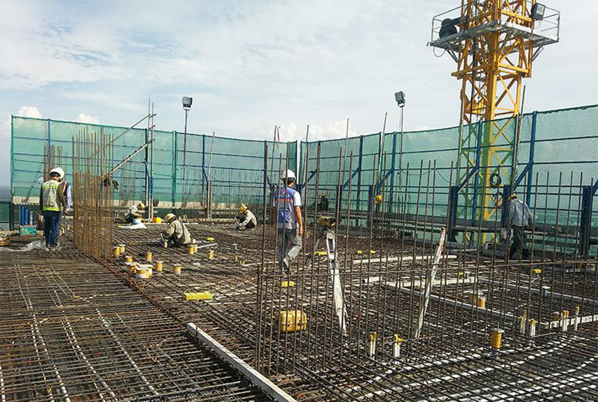 Tiến độ dự án căn hộ chung cư River Panorama Quận 7 Đường Hoàng Quốc Việt chủ đầu tư An Gia tháng 11.2019