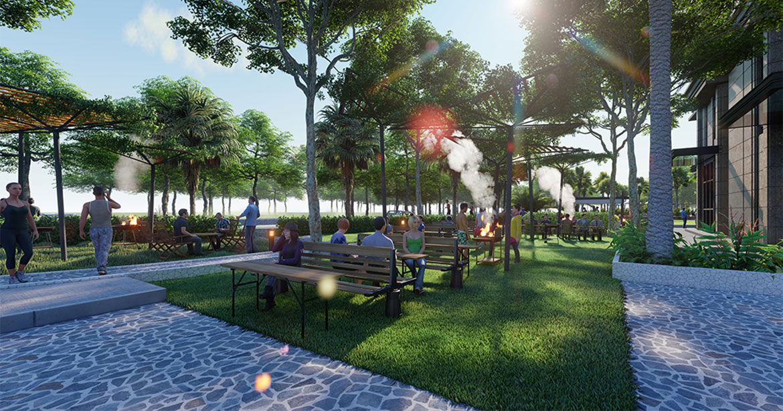 Tiện ích dự án căn hộ chung cư La Partenza Nhà Bè Đường Lê Văn Lương chủ đầu tư Khải Minh Land