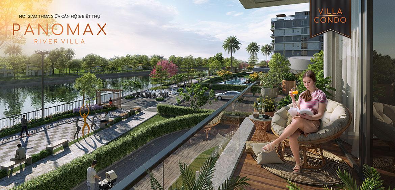 Tiện ích dự án căn hộ chung cư Panomax River Villa Quận 7 Đường Đào Trí chủ đầu tư TTC Land