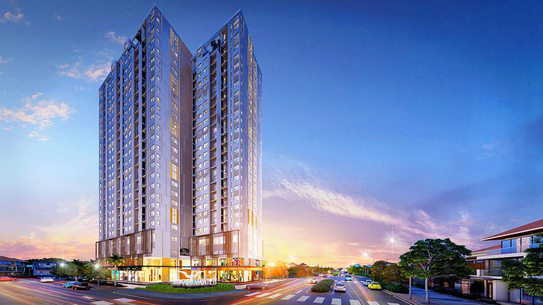 Phối cảnh dự án căn hộ chung cư The PegaSuite II Đường Tạ Quang Bửu Quận 8