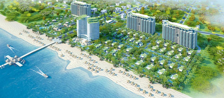 Phối cảnh dự án căn hộ condotel Aria Vũng Tàu chủ đầu tư Cotecland