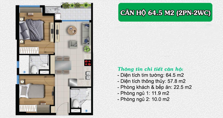 Thiết kế dự án căn hộ chung cư West Gate Bình Chánh chủ đầu tư An Gia