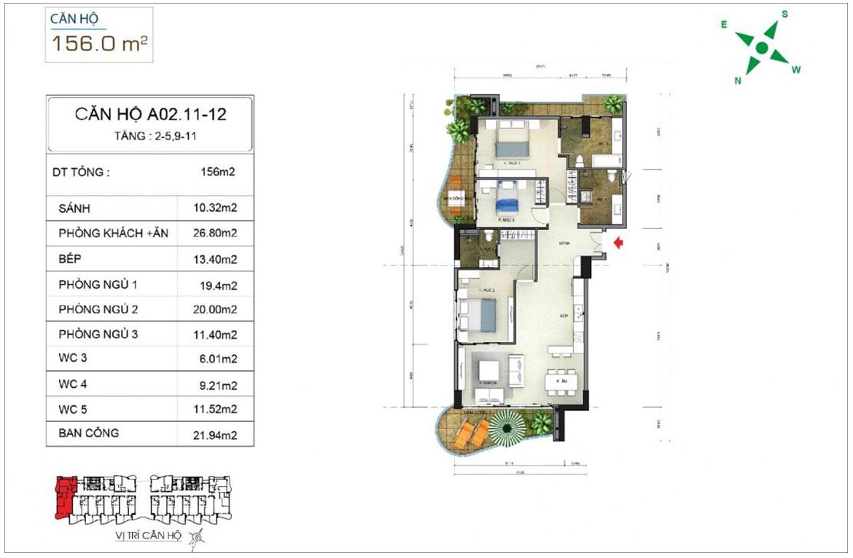 Thiết kế dự án căn hộ condotel Aria Vũng Tàu chủ đầu tư Cotecland