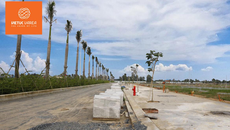 Hình ảnh thực tế dự án đất nền nhà phố VietUc Varea Đường Vành Đai 4 Bến Lức Long An