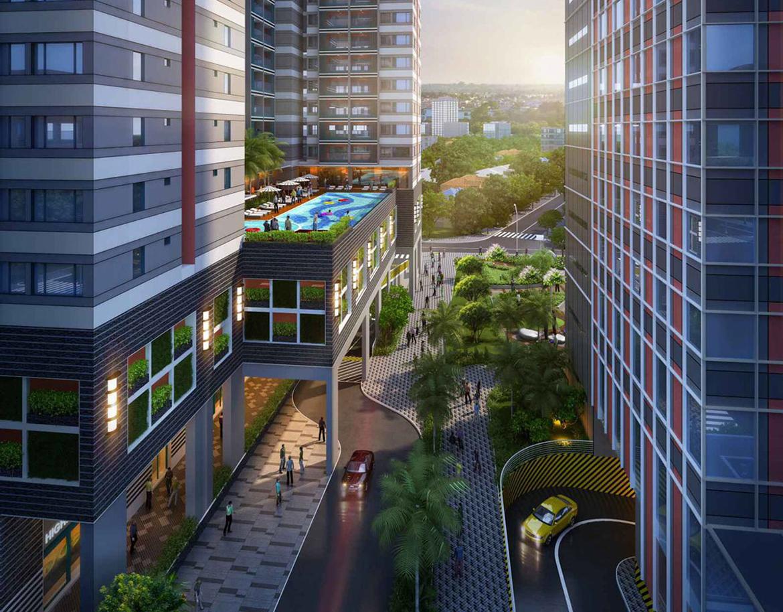 Tiện ích dự án căn hộ chung cư Grand Center Quy Nhơn Đường Nguyễn Tất Thành chủ đầu tư Hưng Thịnh