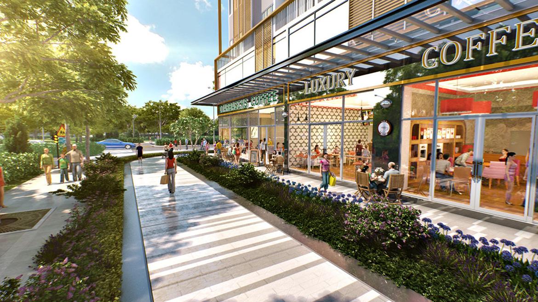 Tiện ích dự án căn hộ chung cư The PegaSuite II Đường Tạ Quang Bửu Quận 8