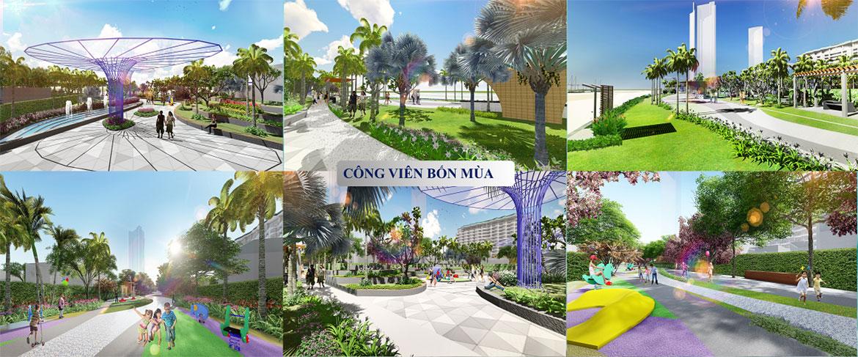 Tiện ích dự án căn hộ condotel Aria Vũng Tàu chủ đầu tư Cotecland