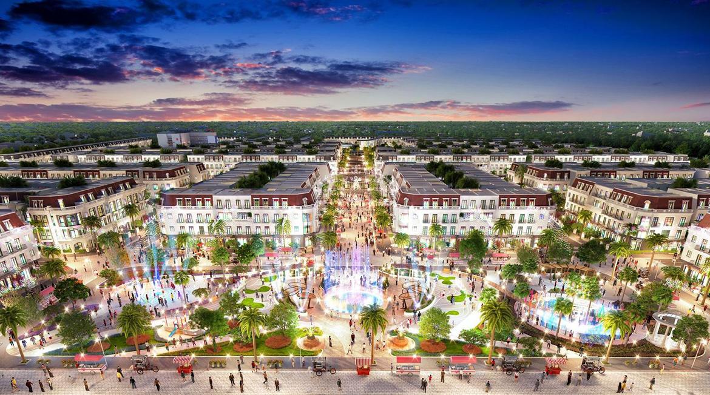 Tiện ích dự án đất nền nhà phố VietUc Varea Đường Vành Đai 4 Bến Lức Long An