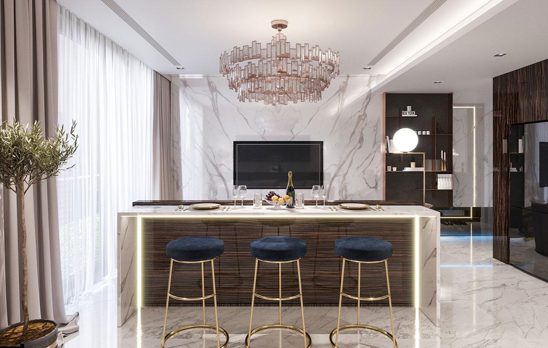 Nhà mẫu dự án căn hộ chung cư Sunshine Continental Quận 10 Đường Tô Hiến Thành chủ đầu tư Sunshine Group