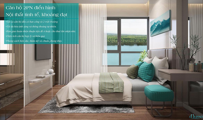 Nhà mẫu dự án căn hộ chung cư D'lusso Quận 2 Đường Nguyễn Thị Định