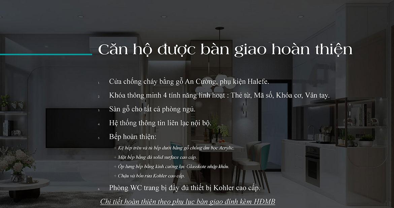 Nội thất dự án căn hộ chung cư D'lusso Quận 2 Đường Nguyễn Thị Định
