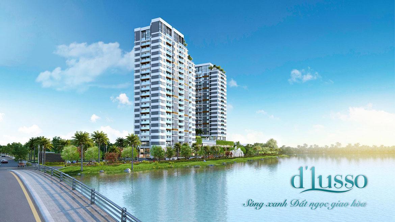 Phối cảnh dự án căn hộ chung cư D'lusso Quận 2 Đường Nguyễn Thị Định