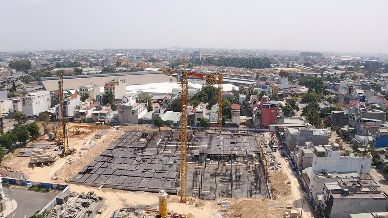 Cập nhật tiến độ xây dựng dự án căn hộ Charm City Bình Dương tháng 2/2020