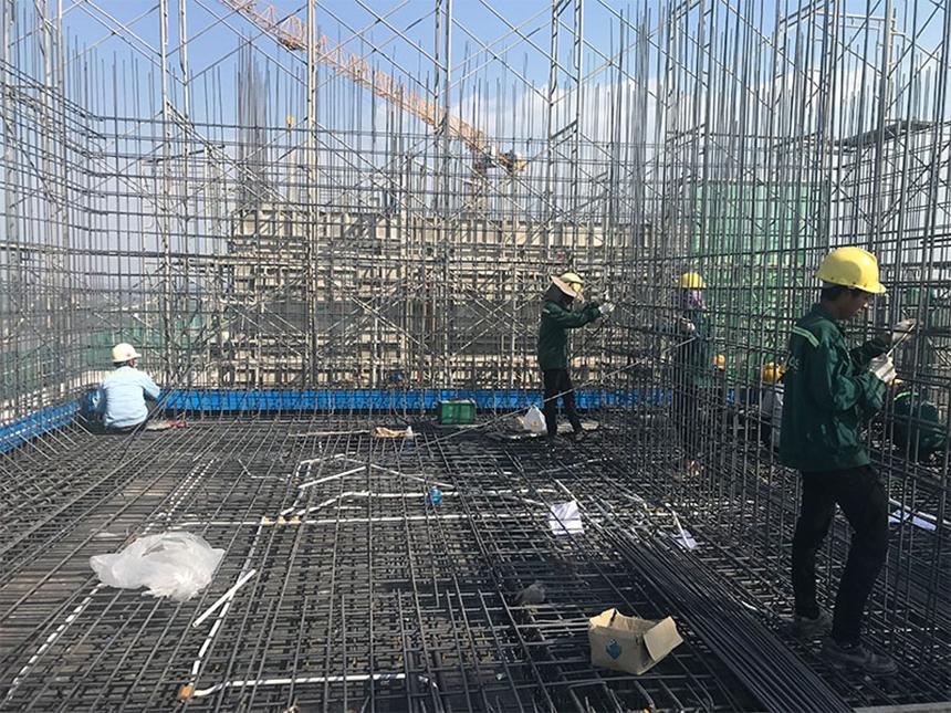 Tiến độ xây dựng dự án căn hộ River Panorama Quận 7 tháng 02.2020