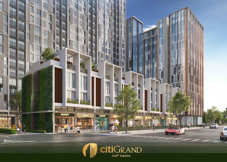 Tiện ích thương mại bên dưới tầng trệt dự án căn hộ chung cư Citi Grand Quận 2 Đường KĐT Cát Lái chủ đầu tư Kiến Á