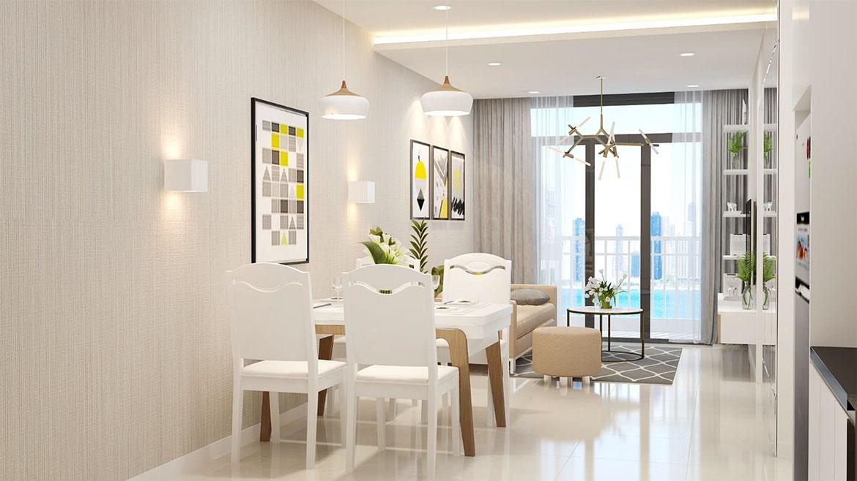Nhà mẫu dự án căn hộ chung cư High Intela đường Võ Văn Kiệt Quận 8