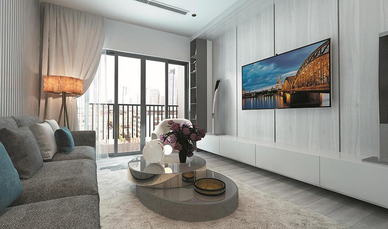 Nhà mẫu dự án căn hộ chung cư TeccoHome An Phú Bình Dương